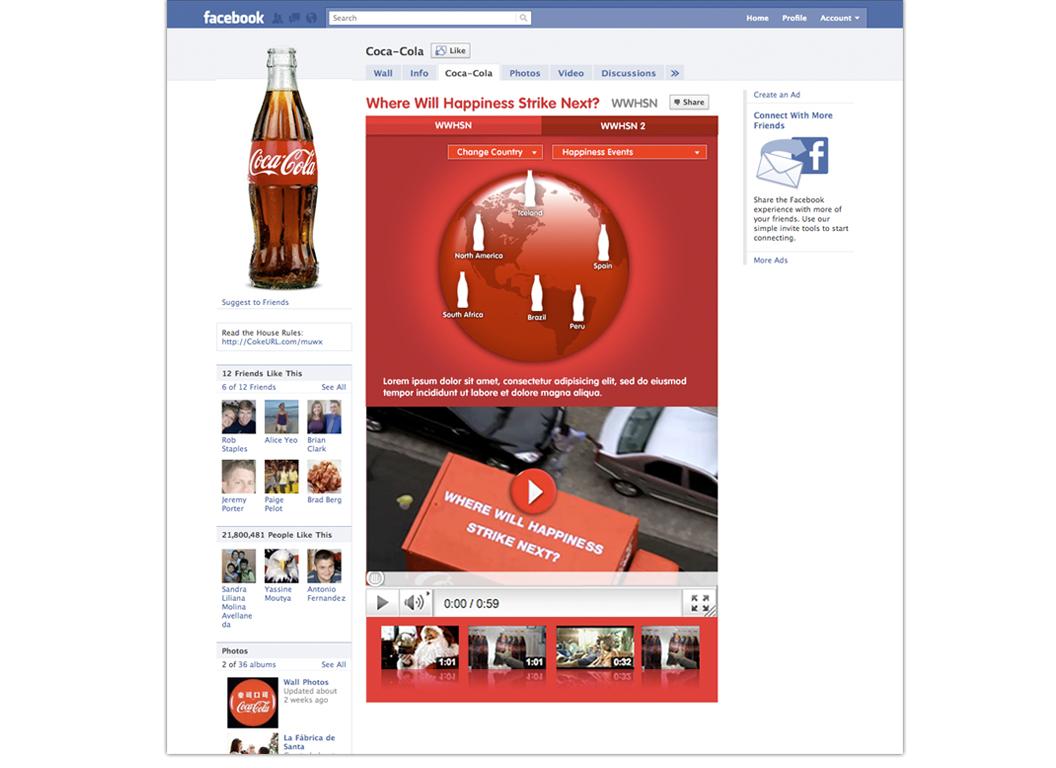 Coca Cola Social Media Campaign