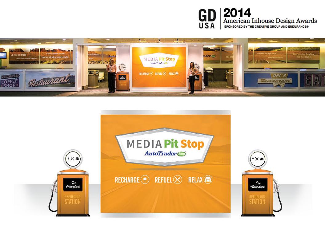AutoTrader.com LA Media Pitstop Booth