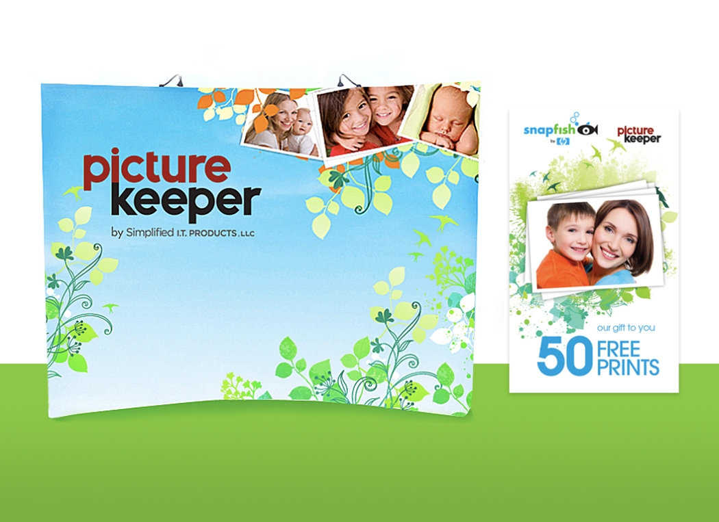 Picture Keeper | Tradeshow Booth  | Coupon