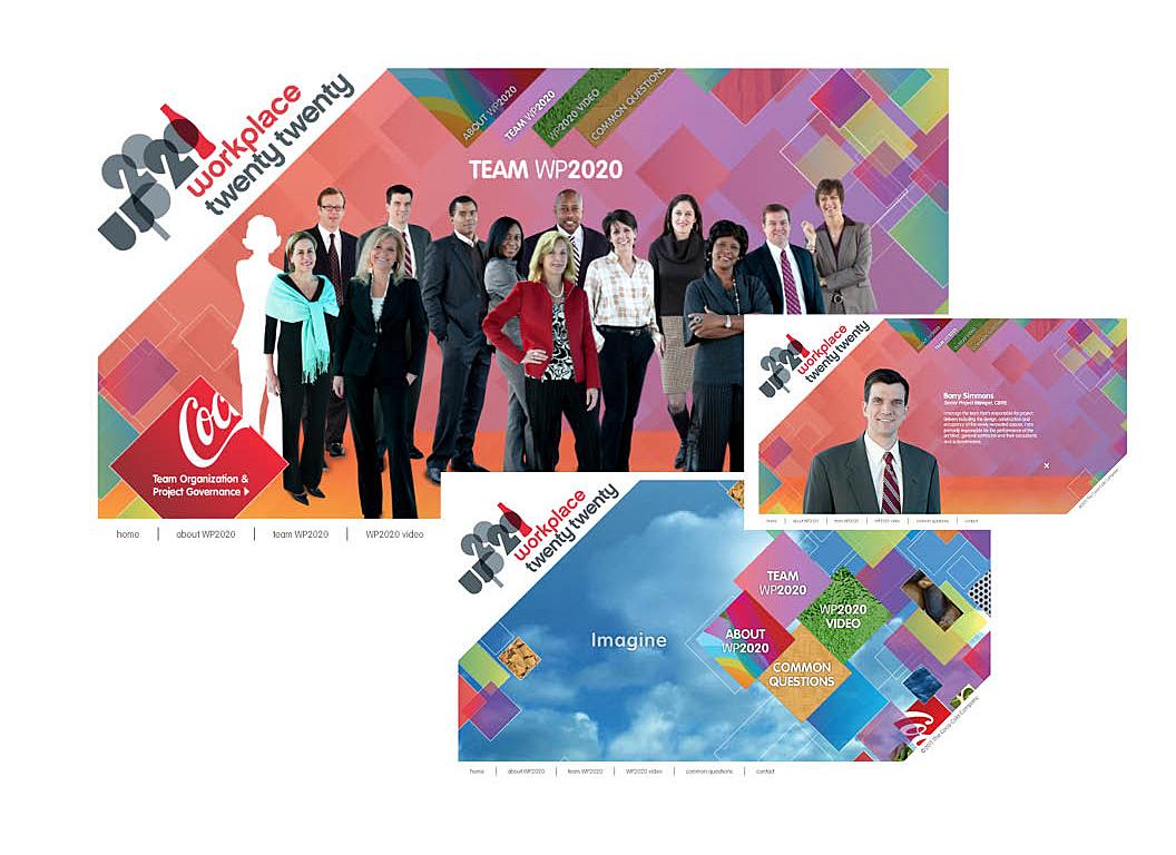 Coca-Cola 2020 | Interactive Flash Story-board