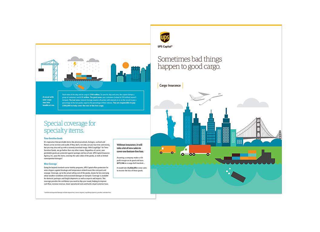 Brochure for Cargo Insurance through UPS Capital Insurance Agency, Inc.