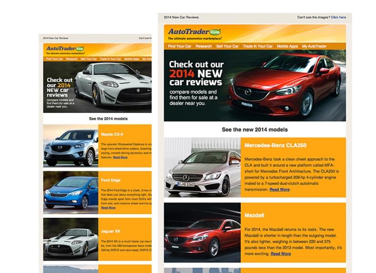 AutoTrader.com Email Design