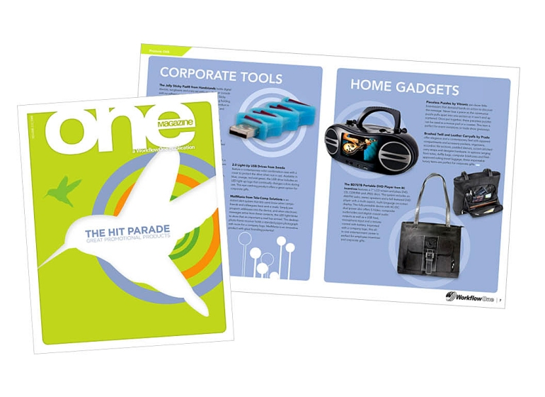 One | Magazine Layout | WorkflowOne