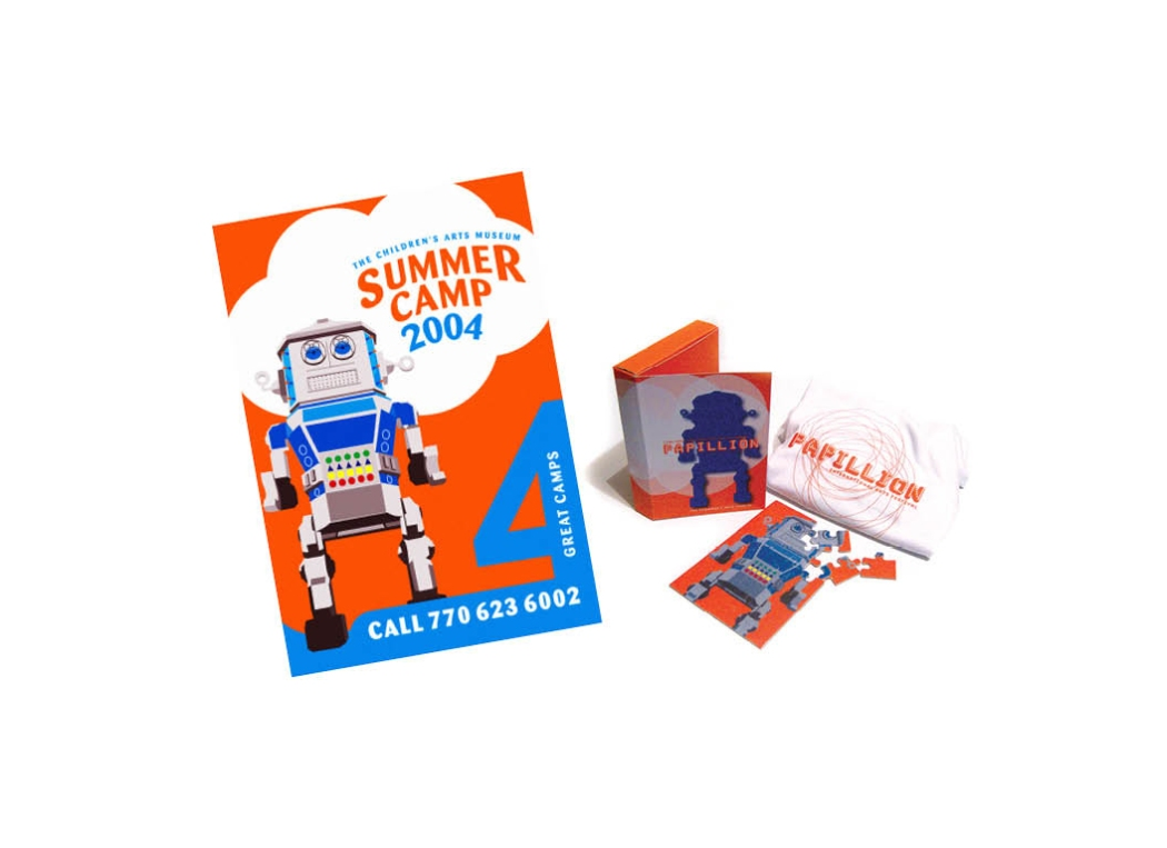 Hudgens Center for the Arts | Summer Camp Promotional Items | AIA project
