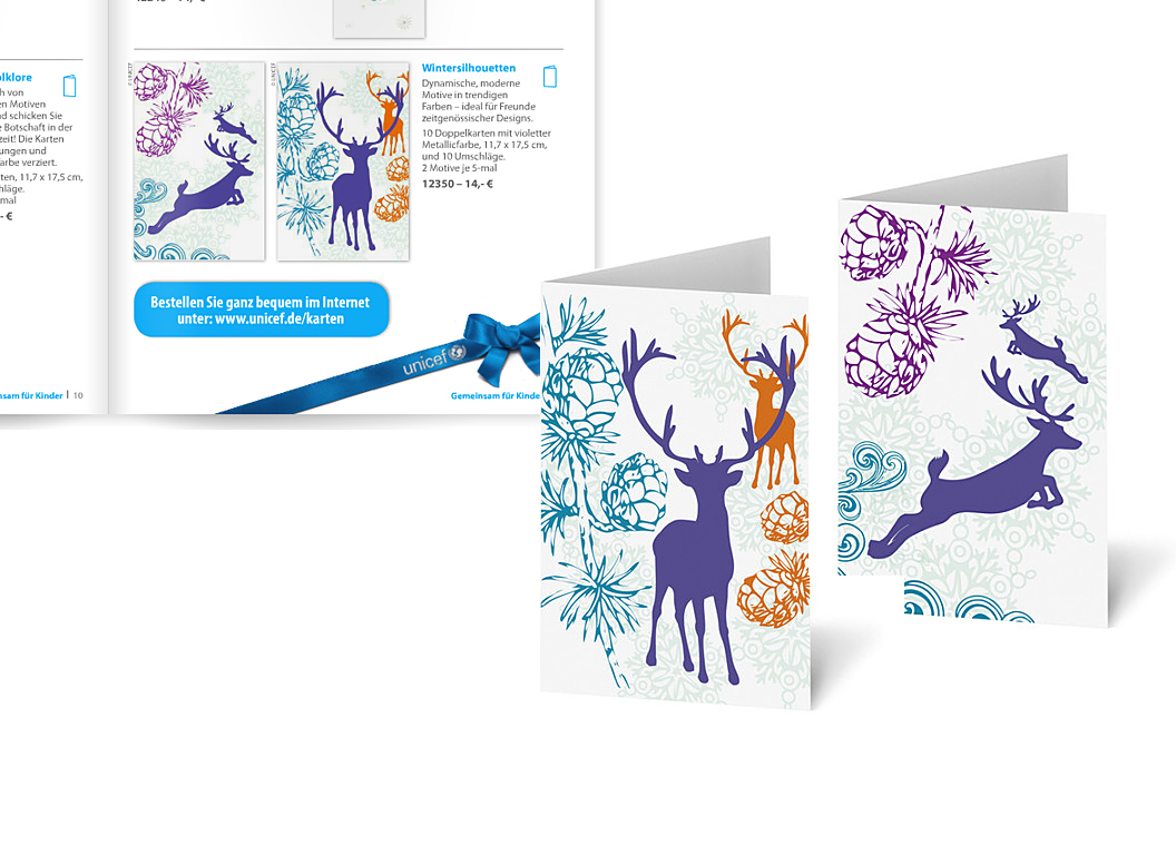 Unicef Greeting Cards Illustrations