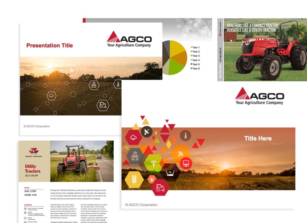 AGCO Print Collateral / PP Presentation Design