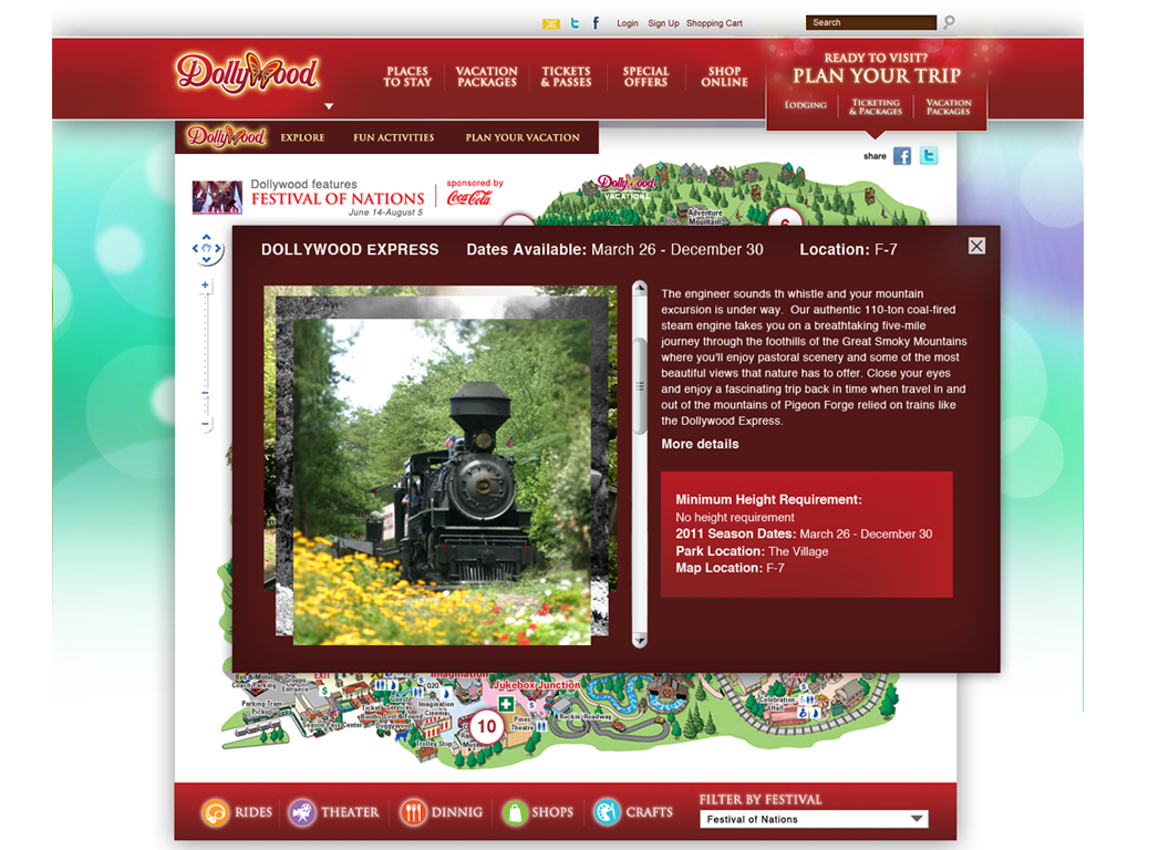 Dollywood Front End Web Design